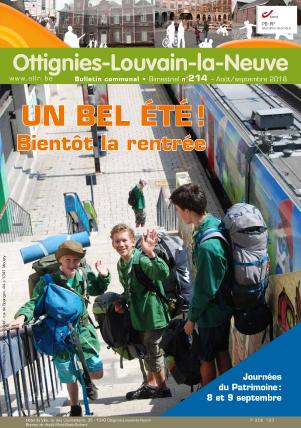 Bulletin-communal-Ottignies-Louvain-la-Neuve-régie-publicitaire-agence-de-communication-Redline-aout-2018