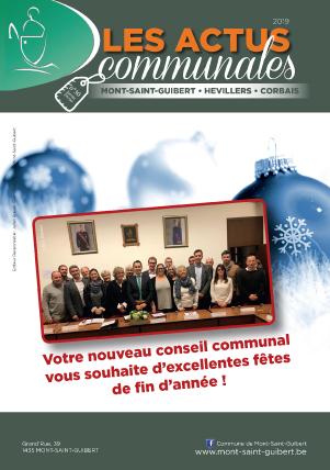 Bulletin-communal-Mont-Saint-Guibert-Actus-communales-régie-publicitaire-agence-de-communication-Redline-decembre-2018