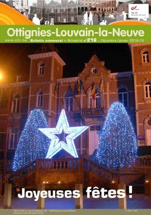 Bulletin-communal-Ottignies-Louvain-la-Neuve-régie-publicitaire-agence-de-communication-Redline-decembre-2018