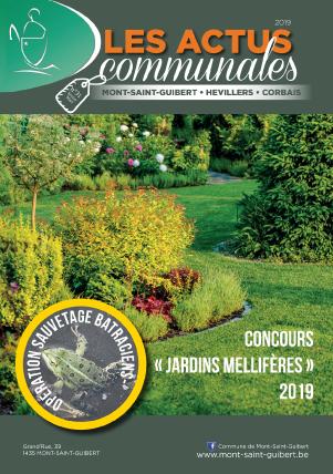Bulletin-communal-Mont-Saint-Guibert-Actus-communales-régie-publicitaire-agence-de-communication-Redline-fevrier-2019