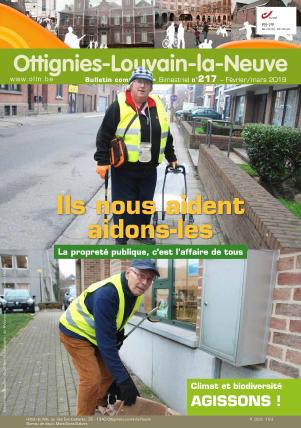 Bulletin-communal-Ottignies-Louvain-la-Neuve-régie-publicitaire-agence-de-communication-Redline-janvier-2019