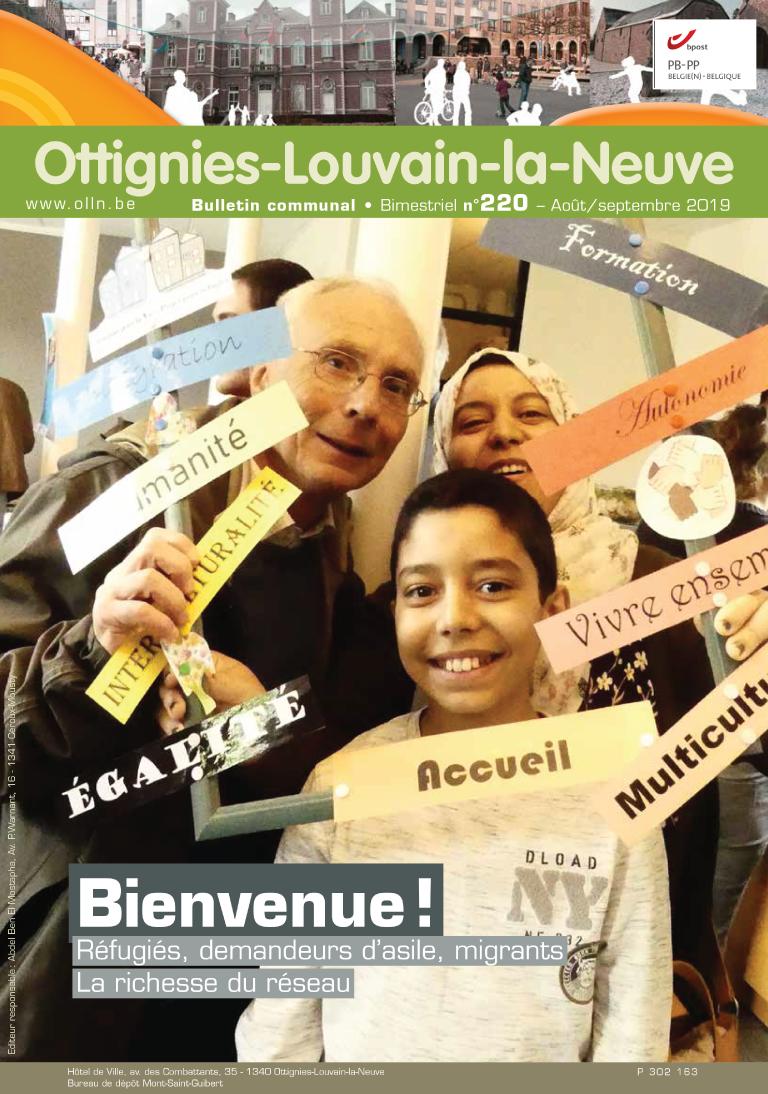 Bulletin-communal-Ottignies-Louvain-la-Neuve-régie-publicitaire-agence-de-communication-Redline-août-2019