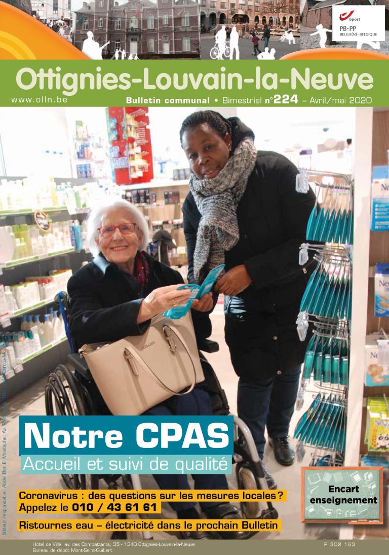 Bulletin-communal-Ottignies-Louvain-la-Neuve-régie-publicitaire-agence-de-communication-Redline-fevrier-2020