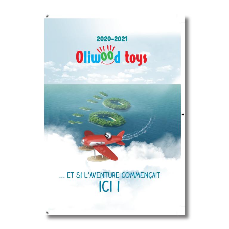 brochures Oliwood toys - redline communication